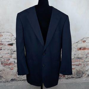 Brooks Brothers Brooksease 42S Navy Wool Blazer
